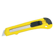 Stanley Products Retractable Pocket Cutter, 6 in, Snap-Off, Carbon Steel, Yellow, 30/EA, #10143P