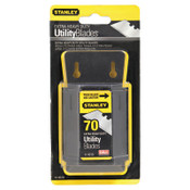 Stanley Products Extra Heavy Duty Utility Blades, 2 7/16 in, Steel, 70/PKG, #11931D
