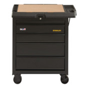 Stanley Products 100 Series, 31 in, 5-Drawer Mobile Workbench, 1/EA, #STST23151BK