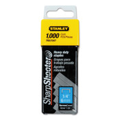 Stanley Products Heavy-Duty Staples, 1/4 in, 7/CTN, #TRA704T