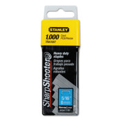Stanley Products Heavy-Duty Staples, 5/16 in, 1/BX, #TRA705T