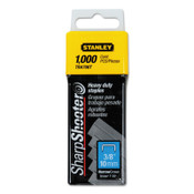 Stanley Products Heavy-Duty Staples, 3/8 in, 1/BX, #TRA706T