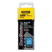 Stanley Products Heavy-Duty Staples, 9/16 in, 4/CTN, #TRA709T