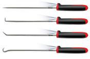 Ullman 4-Piece LED Hook & Pick Sets, 9 3/4 in, Steel, Hook, 1/EA, #CHP4LT