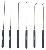 Ullman 6-Piece Hook and Pick Sets, Combo;Hook;Straight;90°;Complex;Double Angle, 1/EA, #CHP6L