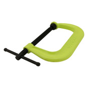JPW Industries 400 SF Hi-Visibility Safety C-Clamps, Sliding Pin, 4 1/8 in Throat Depth, 1/EA, #14303