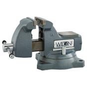 JPW Industries Mechanics Vises, 5 in Jaw, 3 3/4 in Throat, Swivel Base, 1/EA, #21400