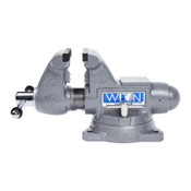 JPW Industries Tradesman 1745 Vise, 4-1/2 in Jaw Width, 3-1/4 in Throat Depth, 360° Swivel, 1/EA, #28805