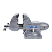 JPW Industries Tradesman 1765 Vise, 6-1/2 in Jaw Width, 4 in Throat Depth, 360° Swivel, 1/EA, #28807