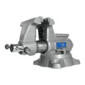 JPW Industries Mechanics Pro Vises, 4 1/2 in Jaw, 3 1/2 in Throat, Swivel Base, 1/EA, #28810