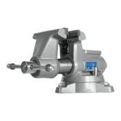 JPW Industries Mechanics Pro Vises, 5 1/2 in Jaw, 3 5/8 in Throat, Swivel Base, 1/EA, #28811
