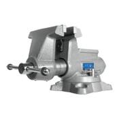 JPW Industries Mechanics Pro Vises, 6 1/2 in Jaw, 4 3/8 in Throat, Swivel Base, 1/EA, #28812