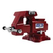JPW Industries Utility Bench Vise, 4-1/2 in Jaw Width, 2-3/4 in Throat Depth, 360° Swivel, 1/EA, #28818