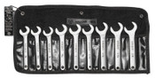 "Wright Tool 9PC SERVICE WRENCH SET 3/4""-1-1/4"" 30DEG. ANGL, 1/ST, #745"