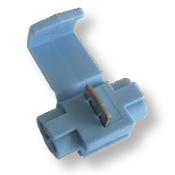 18-14 AWG Import Blue Instant Tap w/ Wire Stop - Flame Retardent (1000/Bulk Pkg.)