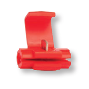 18-14 AWG Import Red Instant Tap w/ Wire Stop - Red (1000/Bulk Pkg.)
