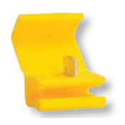 12-10 AWG Import Yellow Instant Tap w/ Wire Stop - Yellow (1000/Bulk Pkg.)