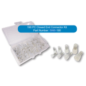 190 PC Closed End Connector Box Kit