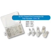 76 PC Closed End Connector Box Kit