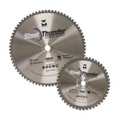 "10"" x 1"", 5/8"" Low RPM Mitre Saw Mild Steel Blade, 52 TCG, Mercer Abrasives 721001 (1/Pkg.)"