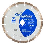 """Combo Segmented Diamond Blades for Asphalt/Green Concrete - 16"""" x .125 x 1"""", 20mm DPH, Mercer Abrasives 681160 (1/Pkg.)"""