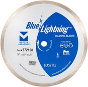 """Glass Tile Diamond Blades - 7"""" x .060 x 5/8"""", Mercer Abrasives 672700 (1/Pkg.)"""