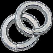 M10 Hi-Collar Lockwasher DIN 7980 Zinc Cr+3 (7000/Bulk Pkg.)
