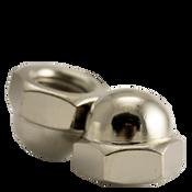 M6-1.00 Metric Stainless Steel A2-70 Hex Domed Acorn Nuts DIN 1587 Coarse (2000/Bulk Pkg.)
