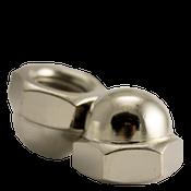 M4-0.70 Metric Stainless Steel A4 Hex Domed Acorn Nuts DIN 1587 Coarse (5000/Bulk Pkg.)