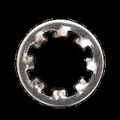 M10 Type J Internal Tooth Lockwasher Stainless Steel A2 (18-8) Type J (3000/Bulk Pkg.)