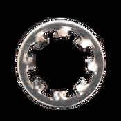 M2 Type J Internal Tooth Lockwasher Stainless Steel A2 (18-8) Type J (500/Pkg.)