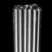 M10-1.50X3 M All Thread Rod Coarse Stainless Steel A4 (316) (5/Bulk Pkg.)