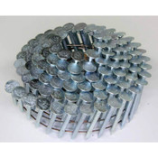 "15° Wire Collation Electro-Galvanized Zinc Plated Roofing Nails, 1-1/4"", 3600 Nails/Carton"