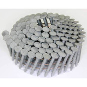 "15° Wire Collation Hot-Dip Galvanized Plain Shank Roofing Nails, 1-1/4"", 3600 Nails/Carton"