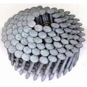 """15° Wire Collated Hot-Dip Galvanized Ring Shank Roofing Nails, 1-1/4"""", 3600 Nails/Carton"""