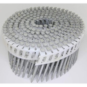 "15° Wire Collated Hot-Dip Galvanized Ring Shank Fiber Cement Siding Nails, 3"", 3200 Nails/Carton"