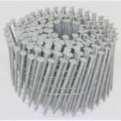 """15° Wire Collated Hot-Dip Galvanized Fiber Cement Siding Nails, 2-1/2"""", Ring Thread, 3200 Nails/Carton"""