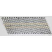 "20° Stick Collated Hot-Dip Galvanized Plain Shank Box & Siding Nails, 3-1/2"", 1100 Nails/Carton"
