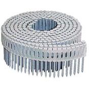 "0° Plastic Collated Hot-Dip Galvanized Fiber Cement Siding Nails, 2-1/2"", 3600 Nails/Carton"