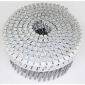 "15° Plastic Collated Hot-Dip Galvanized Plain-Shank Fiber Cement Siding Nails, 2-1/2"", 3200 Nails/Carton"