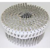 "15° Stainless Steel (304) Plain Shank Fiber Cement Siding Nails, 2"", 3200 Nails/Carton"