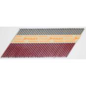 "33° Paper-Tape Collated Bright Framing Nails, 3-1/4"", 2100 Nails/Carton"
