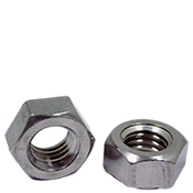 "1/4""-20 Stainless Steel 18-8 Hex Weld Nut, 3 Projections (1500/Bulk Pkg.)"
