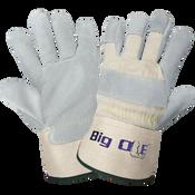 Big Ole® - Premium Split Cowhide Safety Cuff Gloves- Size 8(M) 24ct/12 pair