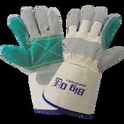 Big Ole® - Split Cowhide Double Leather Palm Gloves- Size 10(XL) 24ct/12 pair