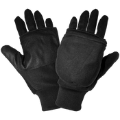 Insulated Fleece Flip-Up Mittens- Size 10(XL) 24ct/12 pair