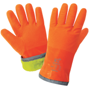 FrogWear® Extreme Cold Nitrile Chemical Handling Gloves- Size 9(L) 24ct/12 pair