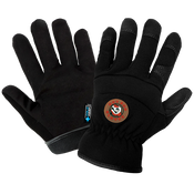 Hot Rod Gloves® Black Insulated Waterproof Drivers Style Gloves- Size 8(M) 24ct/12 pair