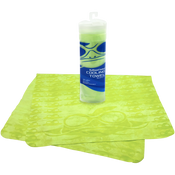 Bullhead Safety® - High Visibility Yellow/Green Cooling Towel- Pack of 10
