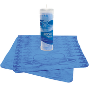 Bullhead Safety® - Ultra-Absorbent Blue Cooling Towel- Pack of 10